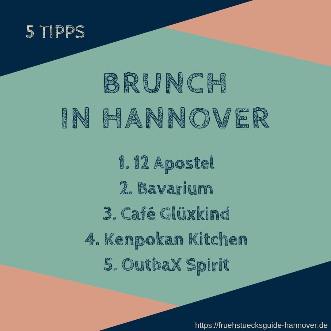 Tipps für Brunch in Hannover