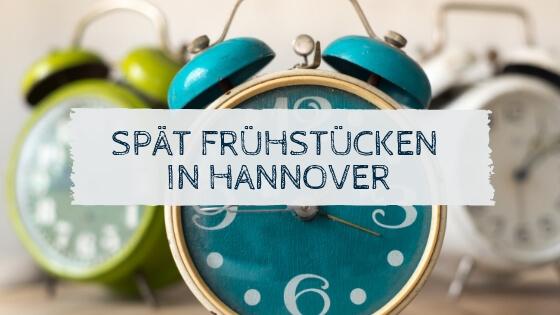 Wecker - Hier kannst du spät frühstücken in Hannover